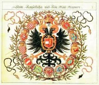 Герб Священной Римской империи. Период Габсбургов. 1605