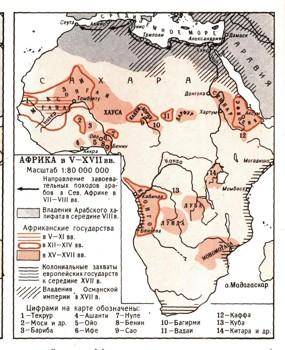 afrika-middle-ages