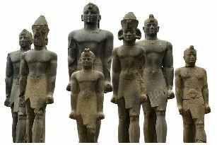 egypt-sculptures